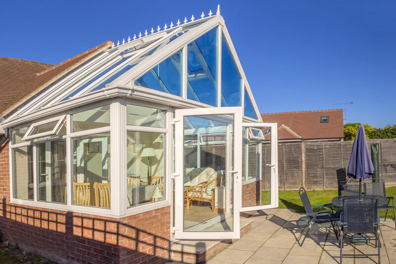 Glass Conservatory in Chichester West Sussex